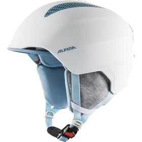 Alpina Grand Ski Helmet Kids, white/skyblue